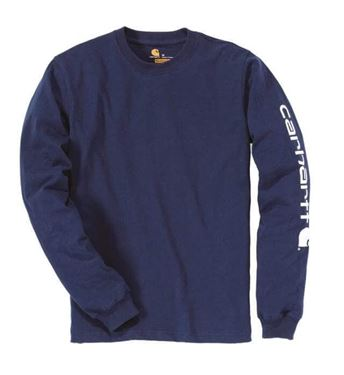 T-Shirt Lange Mouwen Logo Carhartt