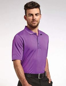 Glenmuir Deacon Performance Piqué Plain Polo Shirt
