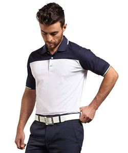 Glenmuir Frederick Collar Block Polo Shirt