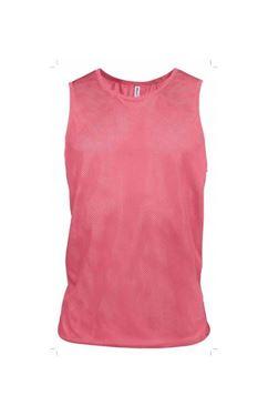 Fluor roze trainingshesje mesh