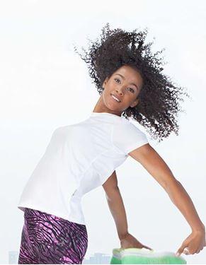 Lichtgewicht slim-fit ademend Dames T-shirt