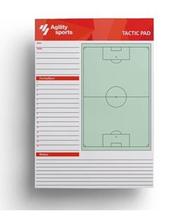 Agility Sports Tactiek Notitieblok Voetbal