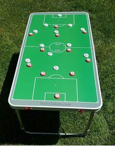 Heel groot coachbord voetbal 120 x 60 cm