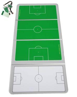 Groot Coachtbord Voetbal 160 x 60 plus gratis Credit Coach Voetbal