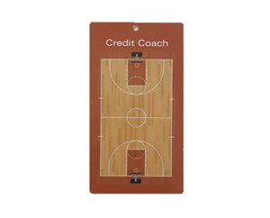 Handzaam Coachbord Basketbal