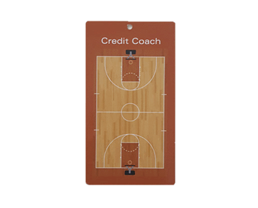 Handzaam Coachbord Basketbal