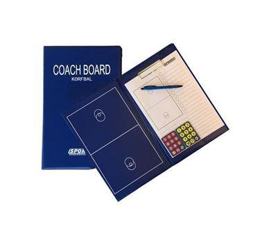 Magnetisch Coachmap Met Klip En Schrijfblok Korfbal
