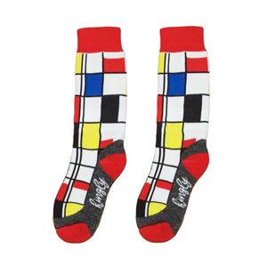 Crew Socks Mondriaan