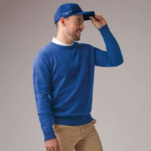 Glenmuir Lambswool Crew Neck Golf Trui