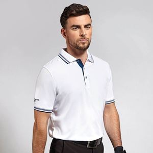 Glenmuir Tipped Golf Poloshirt