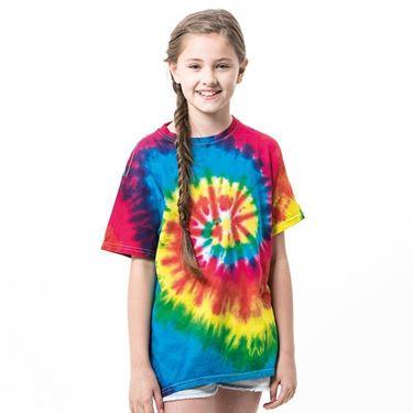 Colortone Kids Rainbow Tie-Dye T