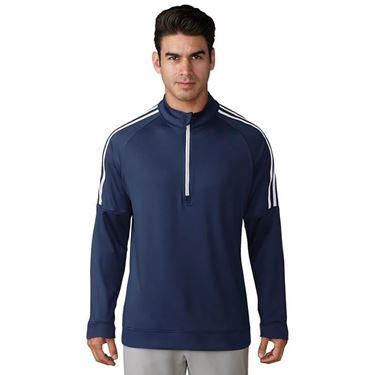 Adidas 3-Stripe Layering ¼ Zip Top AD037