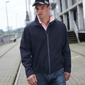 Heren Softshell Jack JN1020