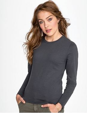 Womens Long-Sleeve T-Shirt Imperial