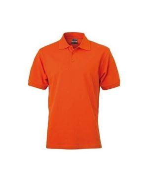 Donker Oranje Heren Polo