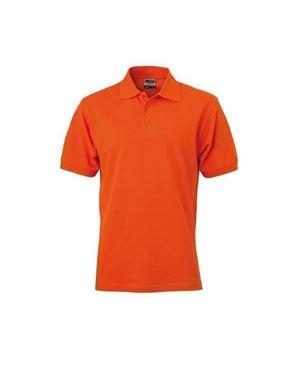Donker Oranje Poloshirt Voor Kinderen