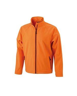 Oranje Heren Softshell Jack