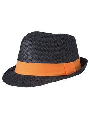 Zwarte Oranje Street Style Hat