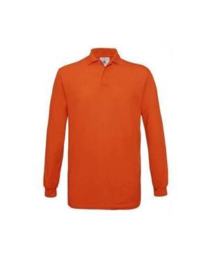 Oranje Polo Safran Longsleeve