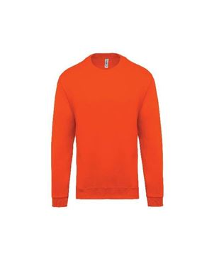 Oranje Kinder Sweater Ronde Hals Kariban