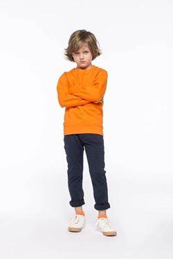 Kinder Sweatshirt Ronde Hals Kariban