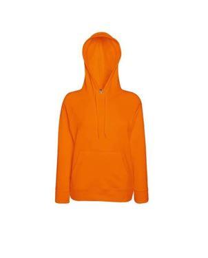 Oranje Lady-Fit Lightweight Hooded Sweatshirt