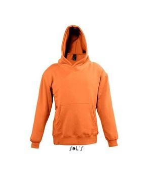 Oranje hoodie voor kinderen