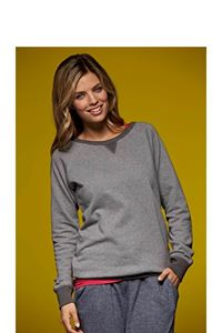 French Terry Dames Sweater James & Nicholson