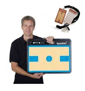 Groot Basketball Coachbord met gratis credit coach basketbal