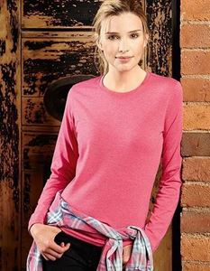 Ladies Long Sleeve HD T-Shirt