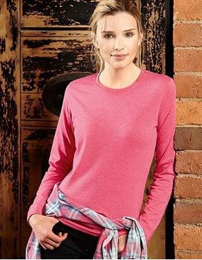 Ladies Long Sleeve HD T-Shirt