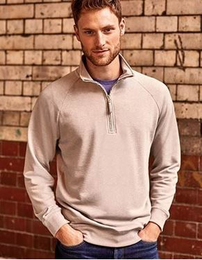 Russell Mens HD 1/4 Zip Sweat