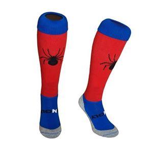 Rood - blauwe Funkous van Hingly met een grote enge spin!
