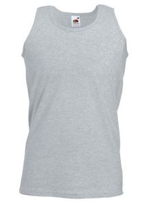 Athletic Vest Fruit Of The Loom Heather Grey