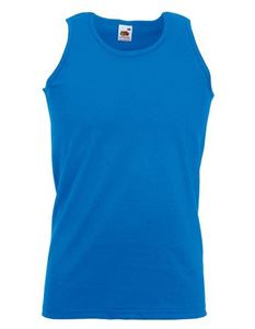 Athletic Vest Fruit Of The Loom Royal Blue