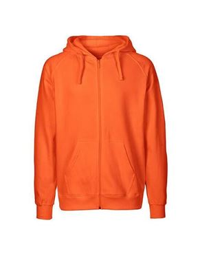 Oranje Fairtrade Mens Zip Hoodie