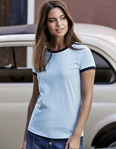 Ladies Ringer Tee