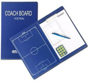Magnetische Coachmap Met Clip En Schrijfblok Voetbal