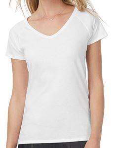 Blondie Classic V-Hals T-Shirt Van B&C