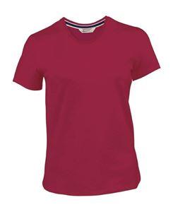 Afbeelding van Dames T-shirt Kariban Vintage Vintage Red XL