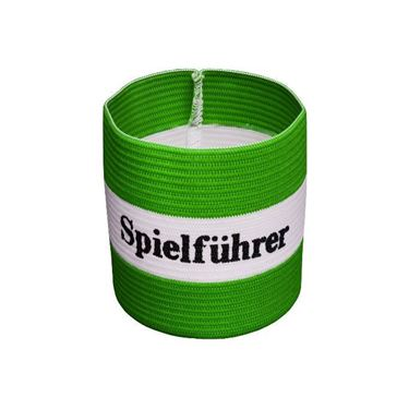 Agility Sports Aanvoerdersband 'Spielführer' Groen