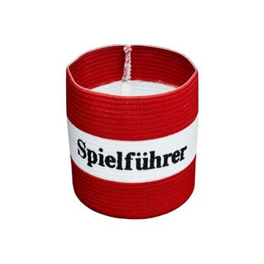Agility Sports Aanvoerdersband 'Spielführer' Rood