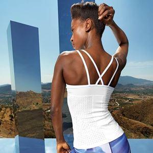 Women's TriDri Laser Cut Spaghetti Strap Vest