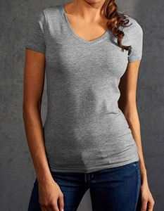Women´S Slim Fit V-Neck-T Promodoro