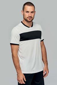 Sportshirt Korte Mouwen Contrast Stripe