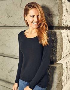 Prpmodoro Women's Slim Fit-T Longsleeve