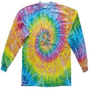 Colortone Long Sleeve Tie-Dye T