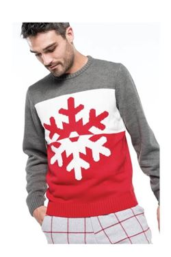 Kersttrui Sneeuwvlok Kariban K997