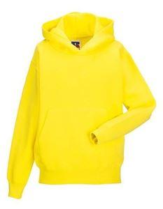Gele Carnaval Hoodie voor kinderen