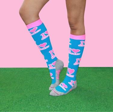 I Love Hockey 3.0 Turquoise - Pink